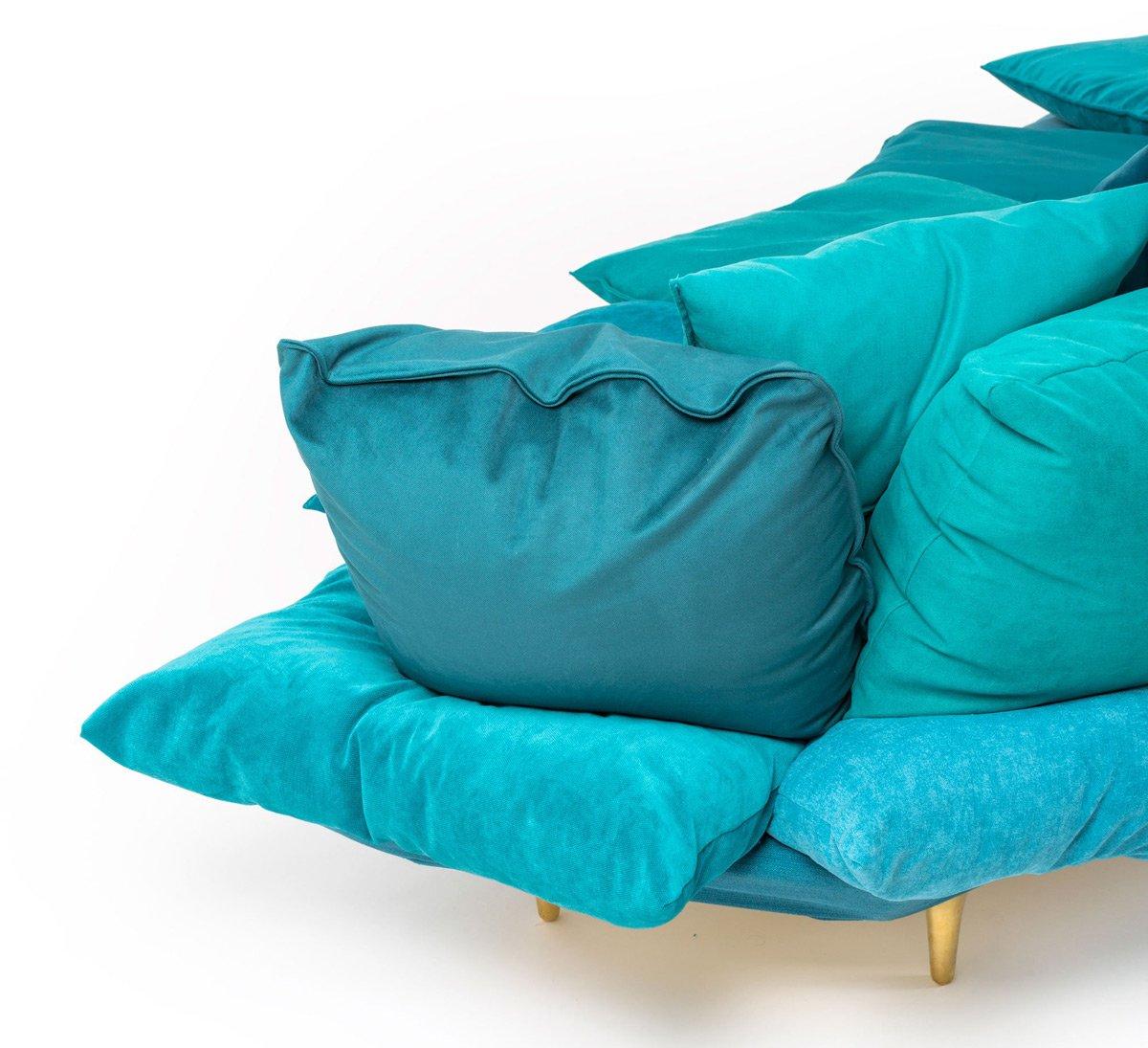 sofa maker bed bekas di bandung made from pillows the green head
