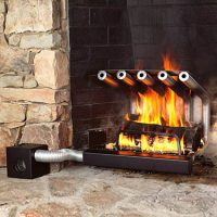 Spitfire Tube Fireplace Heaters - The Green Head