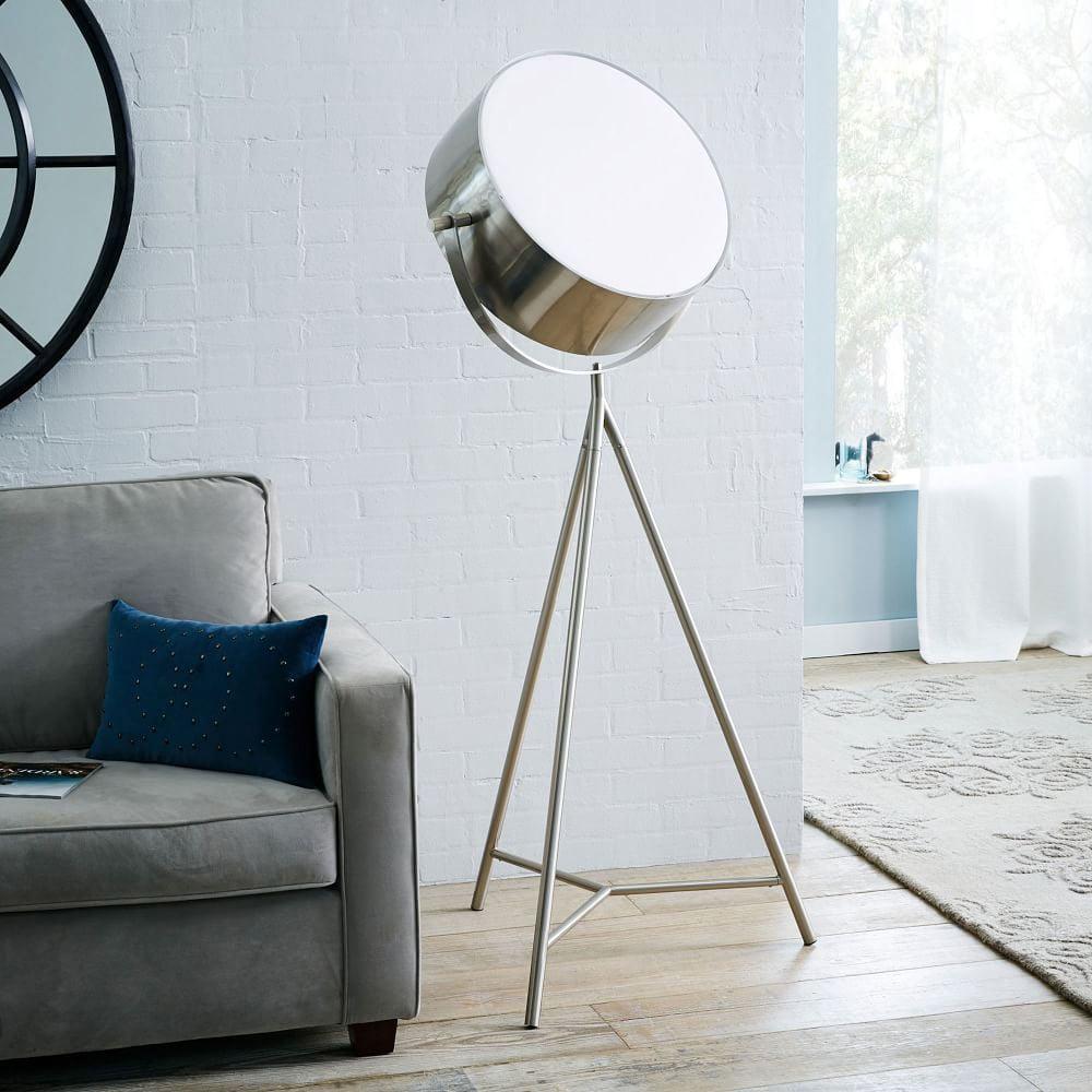 Spotlight Metal Tripod Floor Lamp