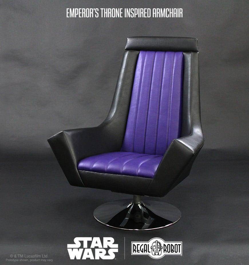 Star Wars Return of the Jedi Emperor Throne Arm Chair