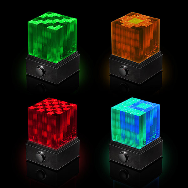 SuperNova  LED Light Show Bluetooth Speaker Cube  The