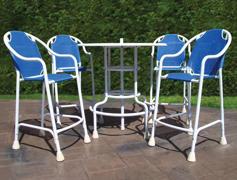 Poolside Table And Chairs