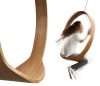 SWING - Wooden Circle Chair - The Green Head
