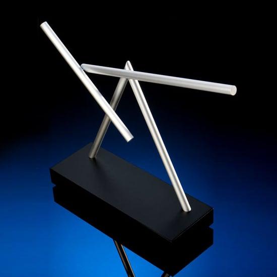 The Swinging Sticks  Kinetic Desk Sculpture  The Green Head