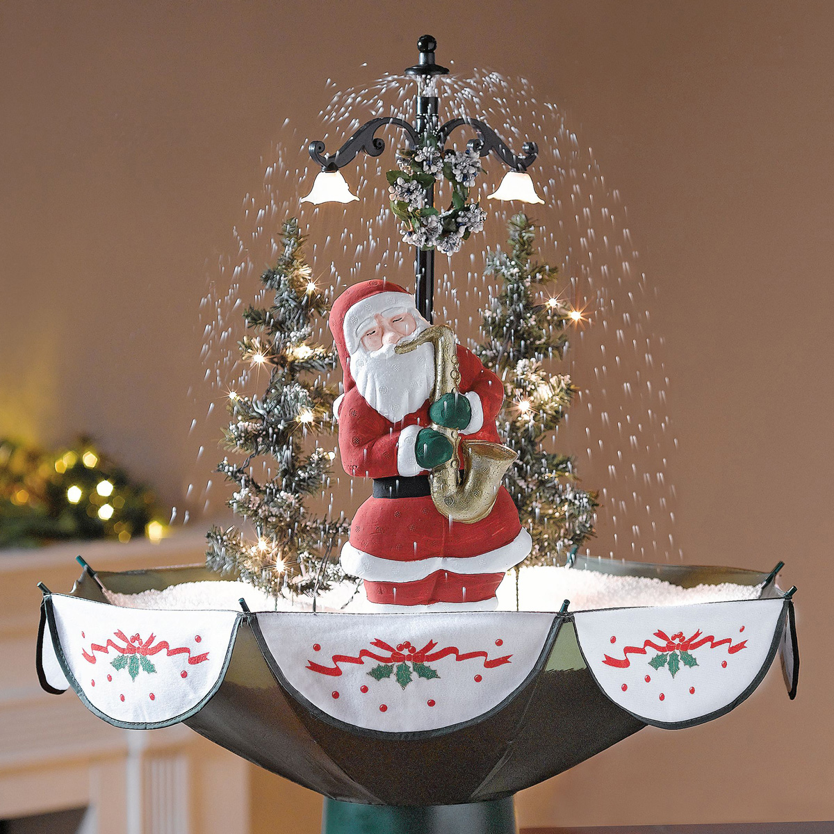 Falling Snow Wallpaper Software Tabletop Snowing Christmas Tree The Green Head