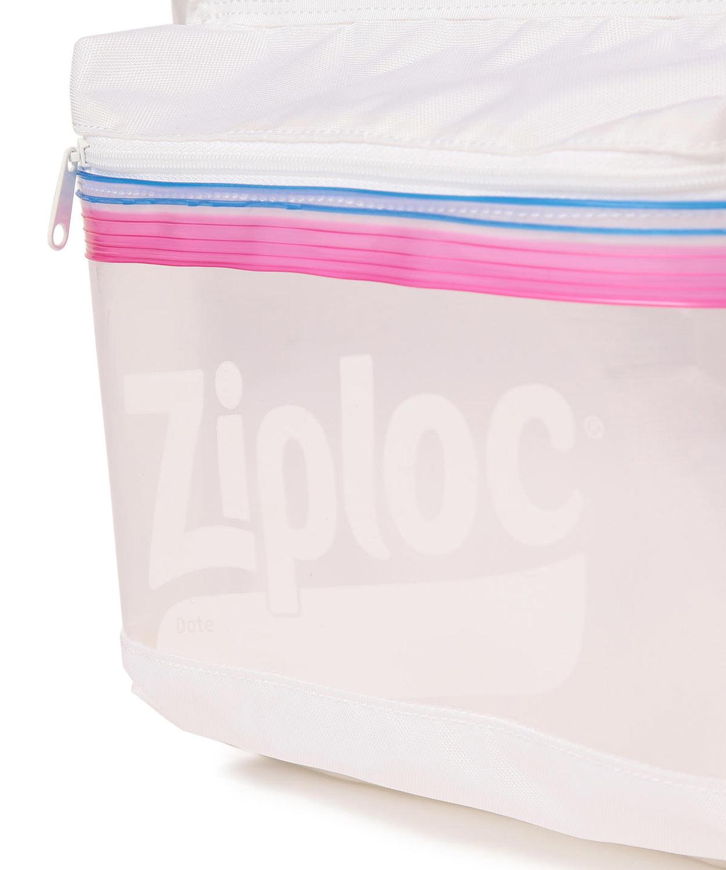 Transparent Ziploc Storage Bag Backpack