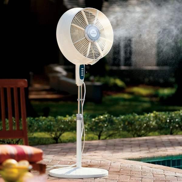 Cool Mist Outdoor Fan
