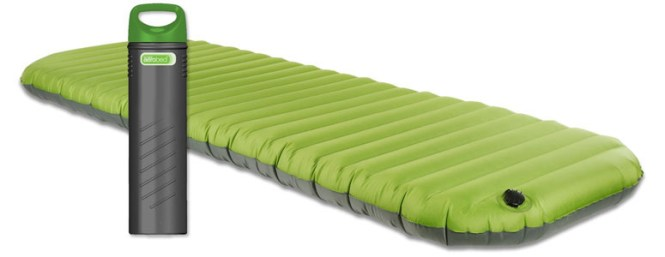 Aerobed Pakmat Portable Airbed S Inside Pump