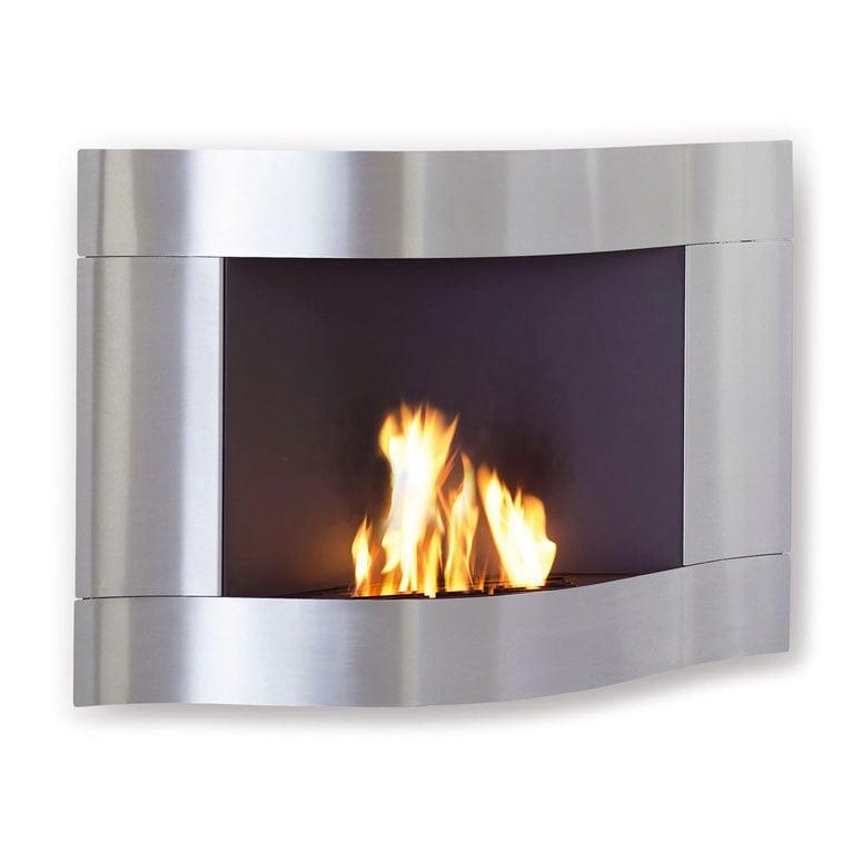 No Chimney Fireplace