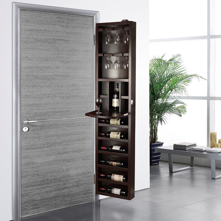 Cabidor Behind The Door Wine Storage Cabinet The Green