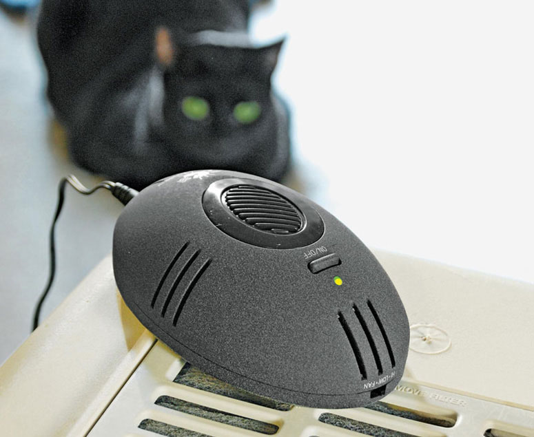 kitchen wall phones diy bench with storage catmouse - electronic litter box deodorizer the green head