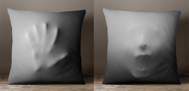 Creepy Halloween Pillow Covers  The Green Head