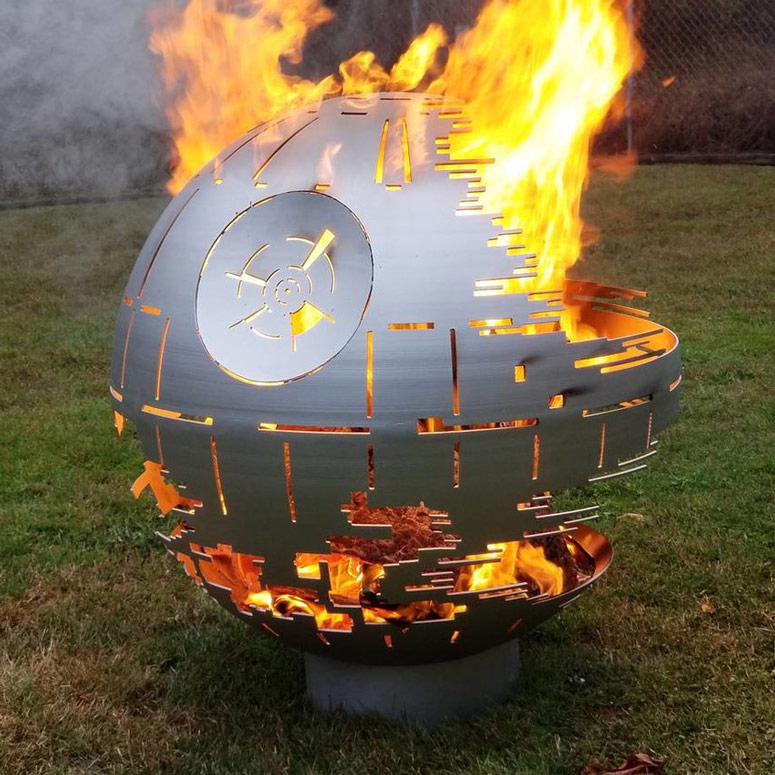 green kitchen chairs shelves ideas death star ii fire pit - the head