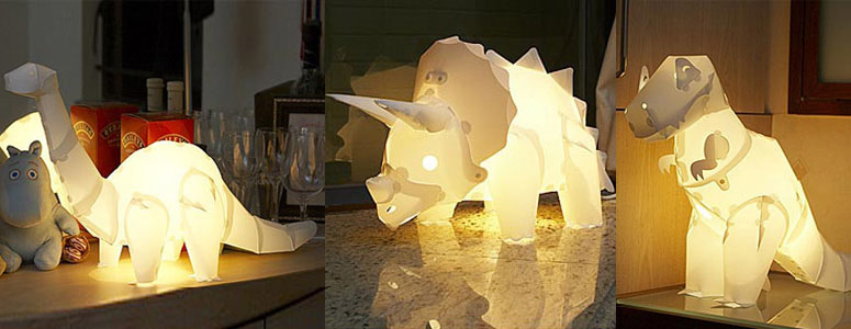 cool kitchen lighting flooring options for diy dinosaur lamps - the green head