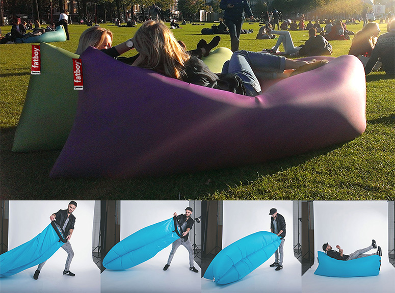 FatBoy Lamzac  Instantly Inflatable Outdoor Lounger