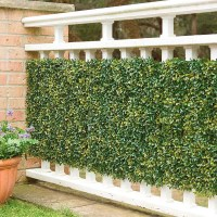 Faux Greenery Outdoor Privacy Panels - The Green Head
