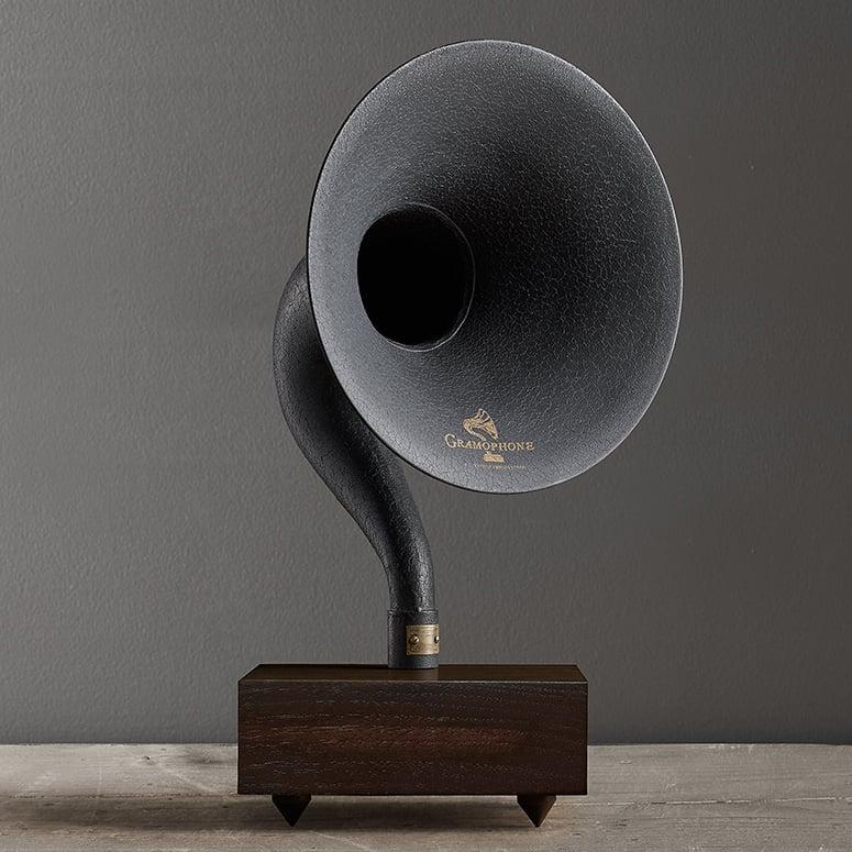 Giant Bluetooth Gramophone Speaker  The Green Head