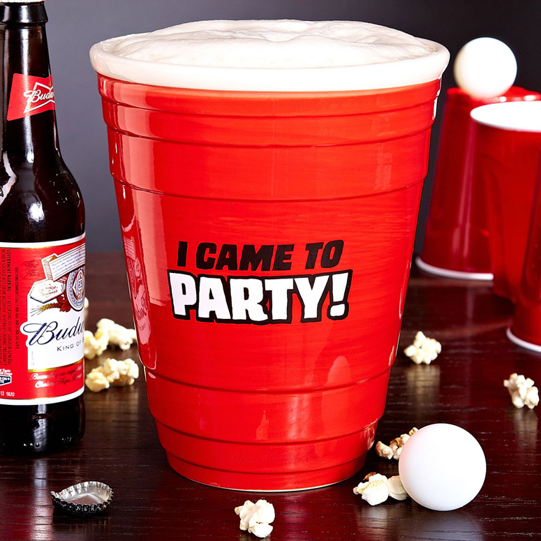 Gigantic Red Party Cup  64 oz