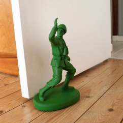 Kitchen Timers Modern Island With Seating Green Army Man Door Stop - The Head