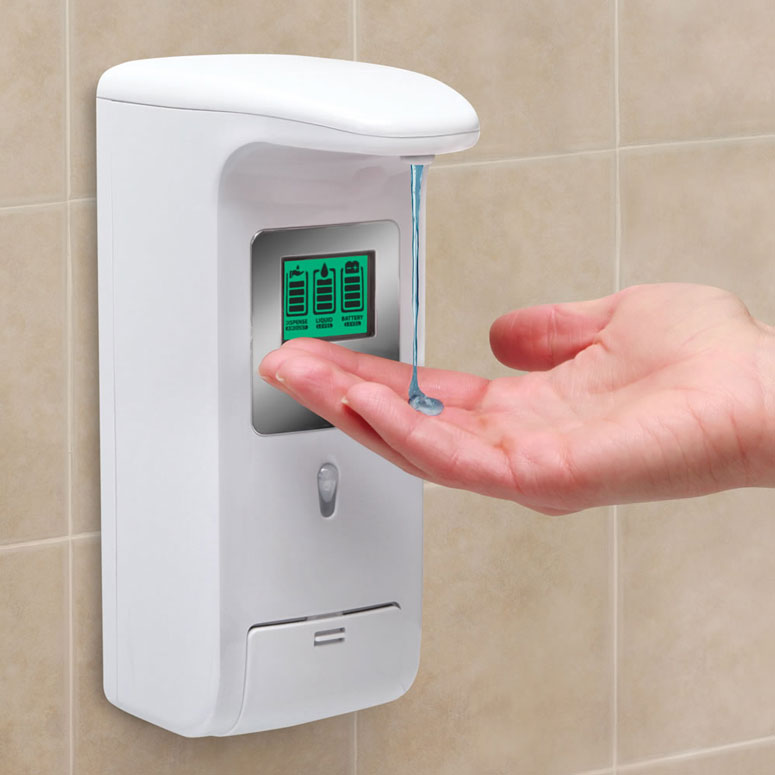 HandsFree WallMounted Shower Dispenser  The Green Head