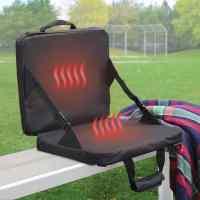 Heated and Massaging Stadium Seat Cushion - The Green Head
