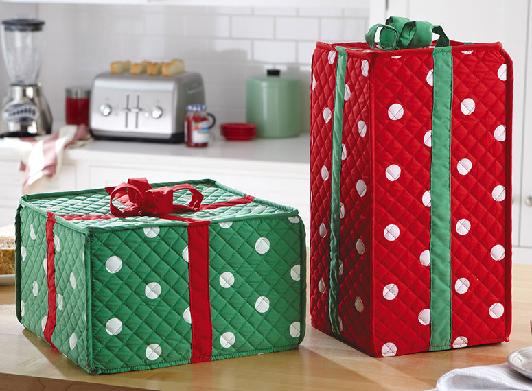 Holiday Gift Box Kitchen Appliance Covers The Green Head
