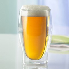 Kitchen Timers Islands Cheap Insulated Double Wall Beer Glasses - The Green Head