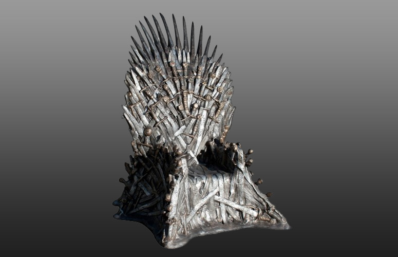 game of thrones office chair set 4 lifesize iron throne - the green head