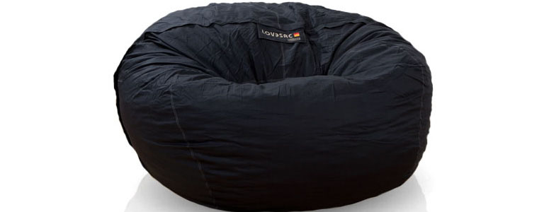 xl bean bag chair medline shower lovesac the bigone - 8 foot ultimate green head