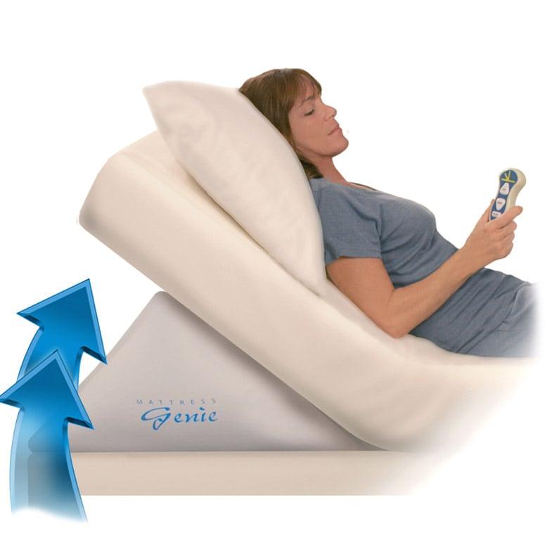 mattress genie adjustable incline bed