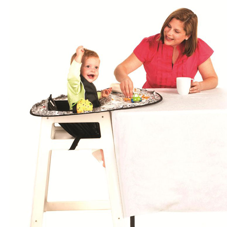 high chair table cover rental philadelphia neatnik saucer all in one restaurant and placemat