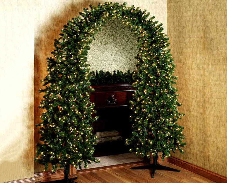 Prelit Christmas Tree Arch  The Green Head