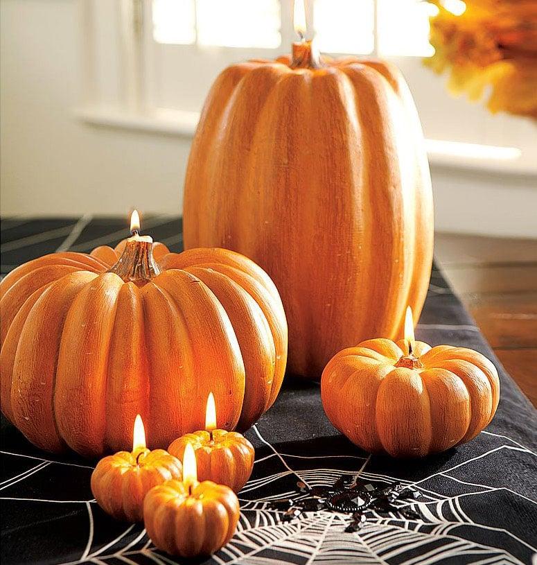 Pumpkin Candles  The Green Head