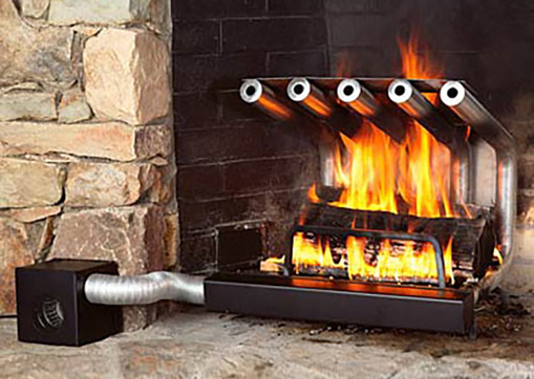 Spitfire Tube Fireplace Heaters  The Green Head