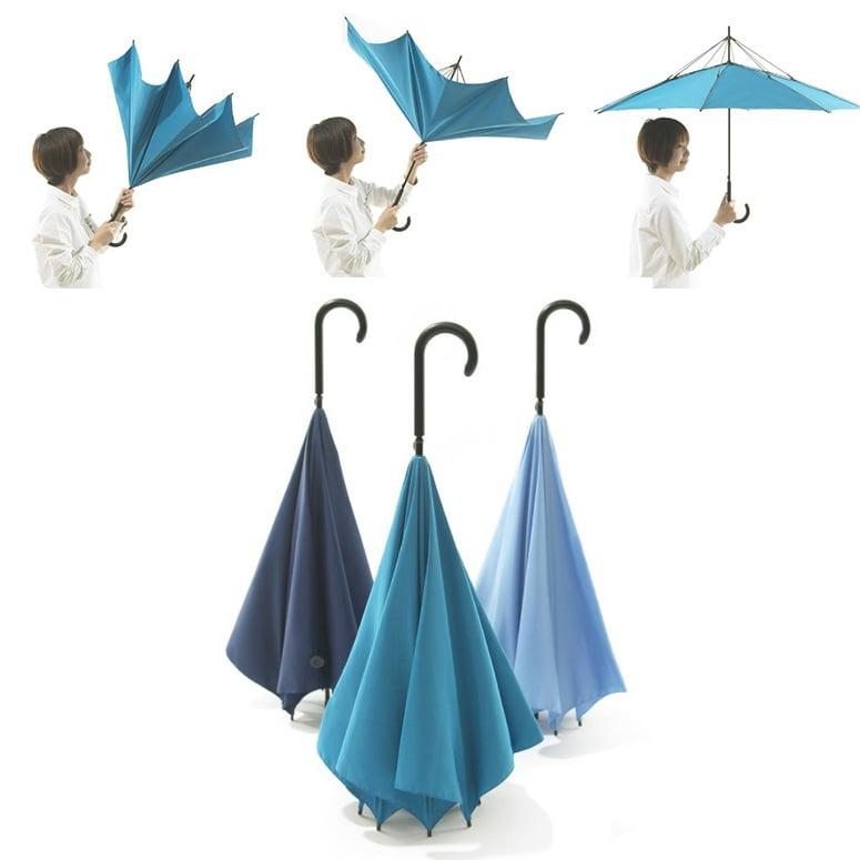 UnBRELLA Upside Down Umbrella The Green Head