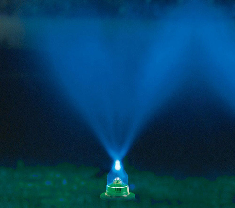 Water And Light Lawn Show Mister  The Green Head