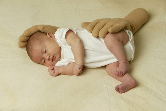 Zaky Hand Pillow  Your Baby Is In Good Hands  The Green Head