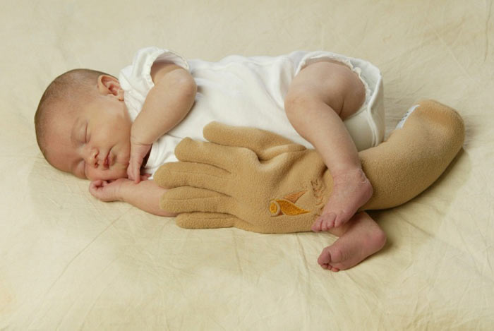 Zaky Hand Pillow  Your Baby Is In Good Hands