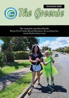 Greenie November 2020 Coverpage