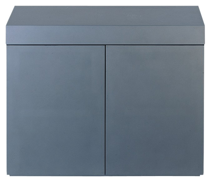 Image of ADA Wood Cabinet Metallic Silver