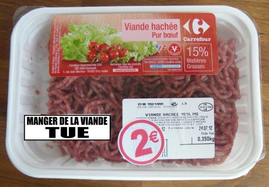 manger de la viande tue
