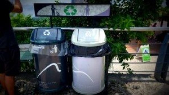 trash bins recycling brazil