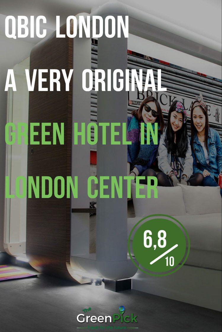 qbic hotel london green hotel london uk responsible travel