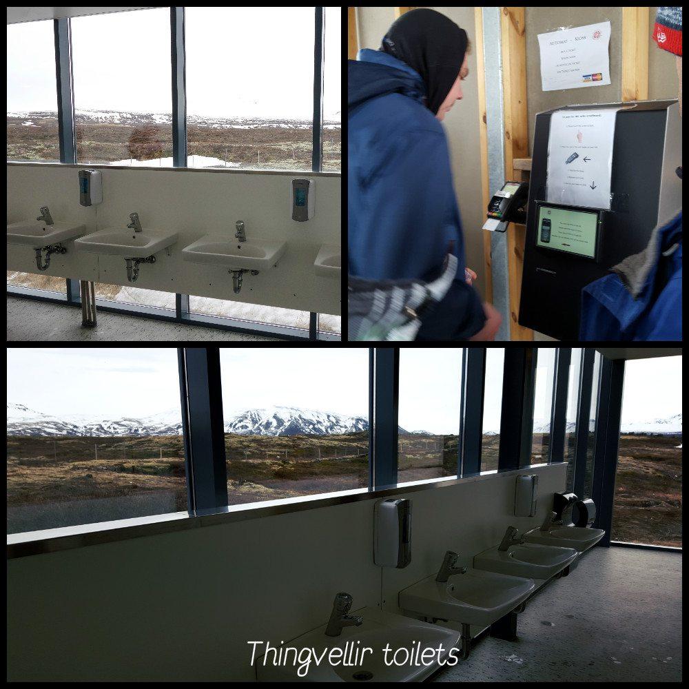 thingvellir toilettes islande