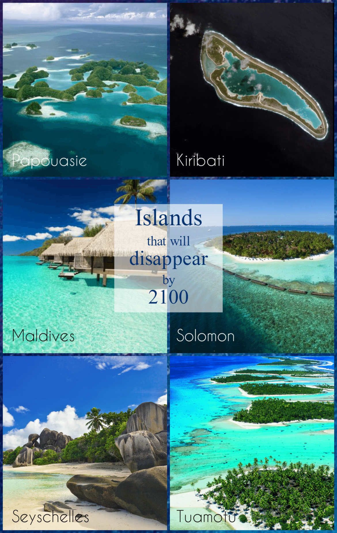 islands that will disappear global warming