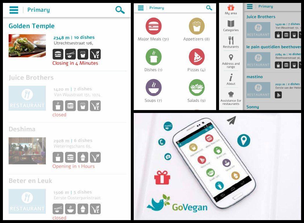 govegan app android app where to eat vegan