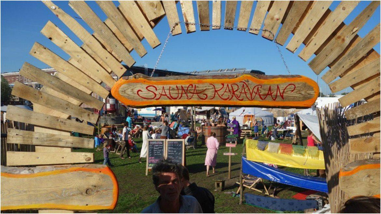 sauna festival saunakaravaan choses insolites à faire pays bas amsterdam
