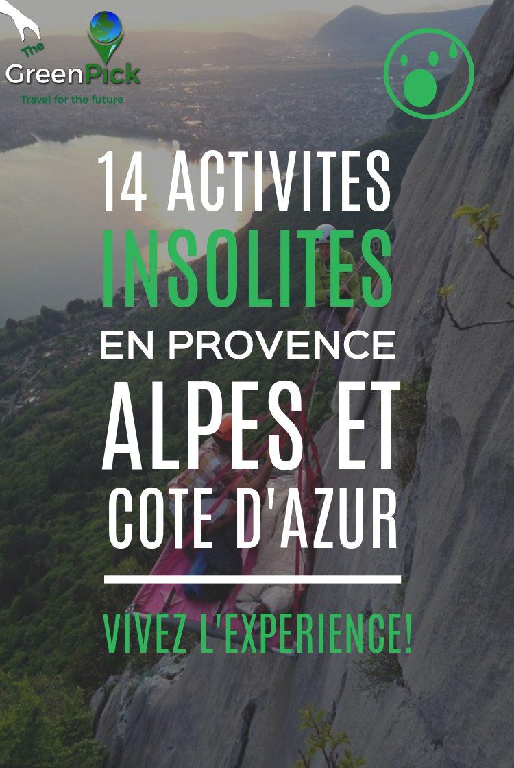 top activites insolites cote azur var provence activites ecolos uniques
