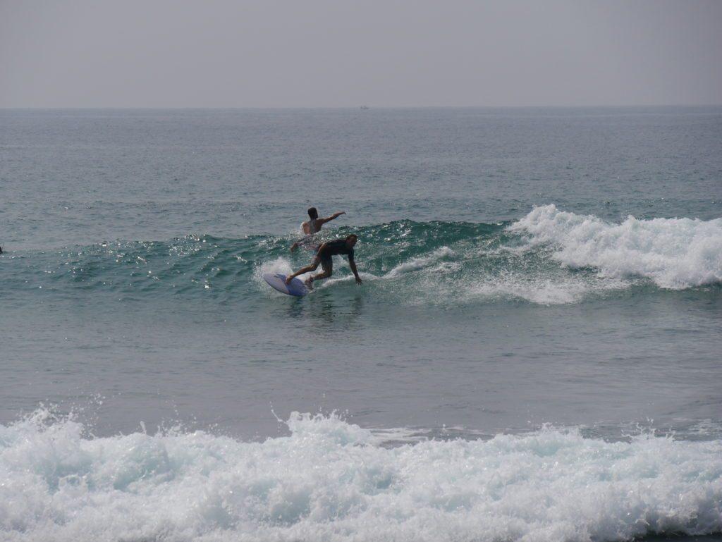 surfing in Galle sri lanka