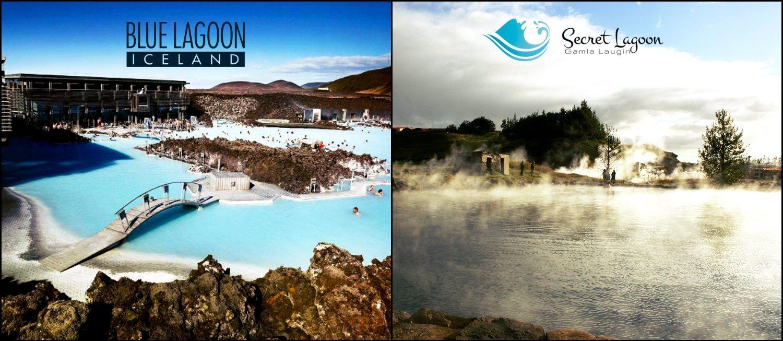 Blue Lagoon vs Secret Lagoon Iceland